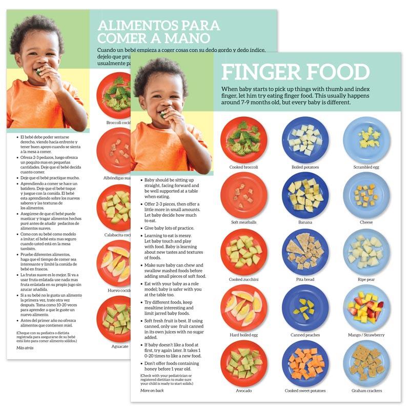 Finger Food tear pad