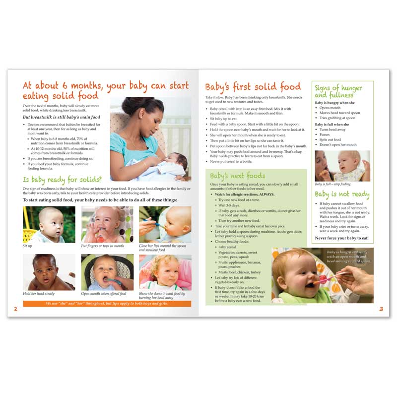 Feeding Your Baby Age 6-12 Months