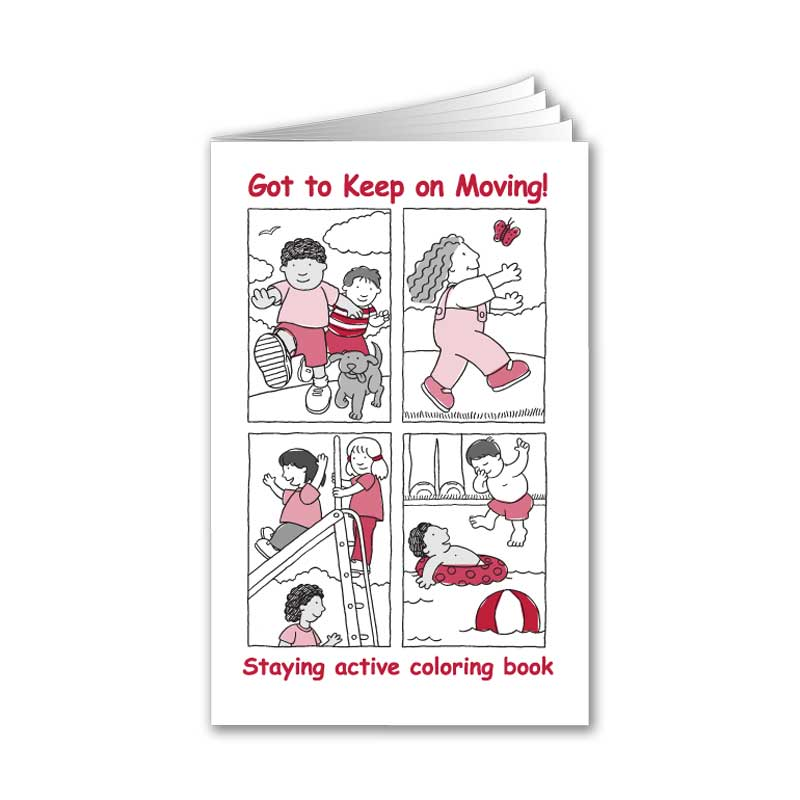 Got to Keep on Moving coloring book