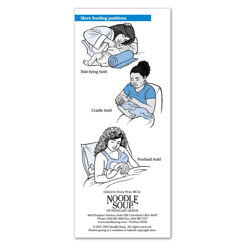 Breastfeeding Successful Breastfeeding Latching Flier - English