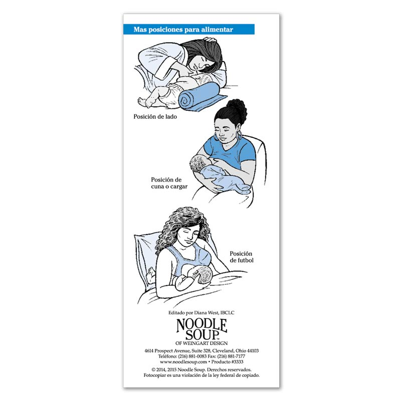 Breastfeeding Successful Breastfeeding Latching Flier - Spanish
