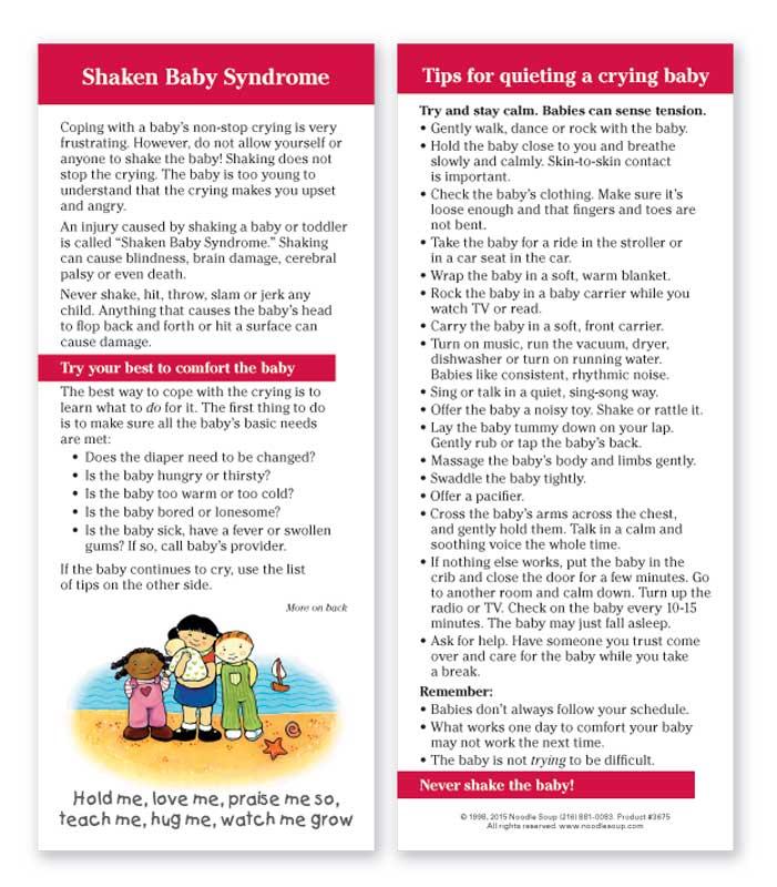 Shaken Baby Syndrome - English