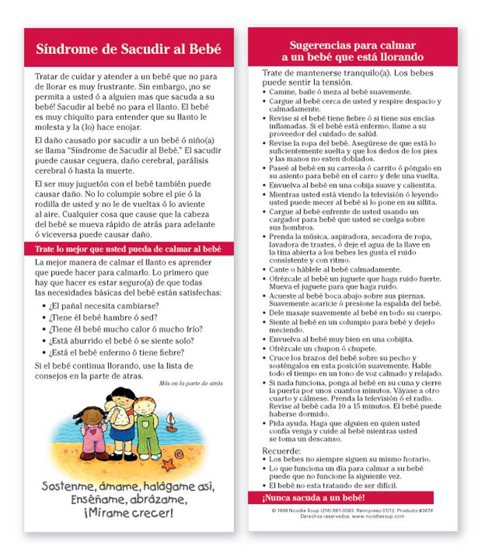 Shaken Baby Syndrome - Spanish