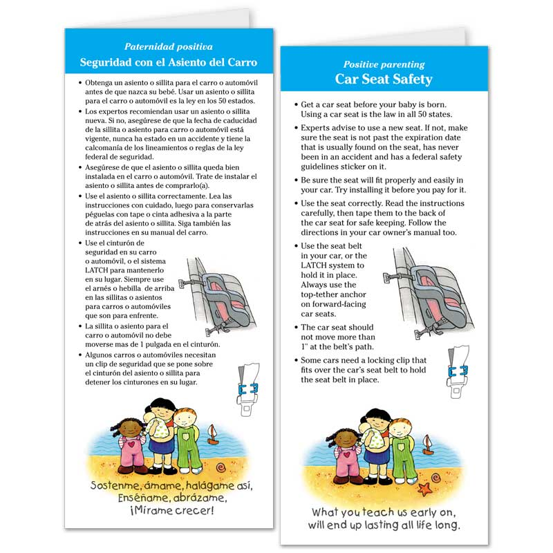 Car Seat Safety flier