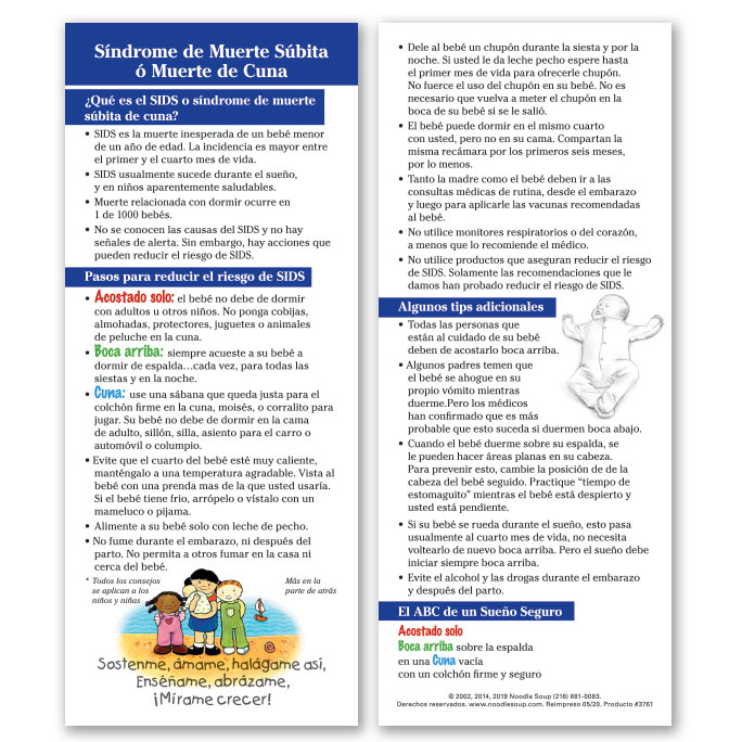 Sudden Infant Death Syndrome - Spanish