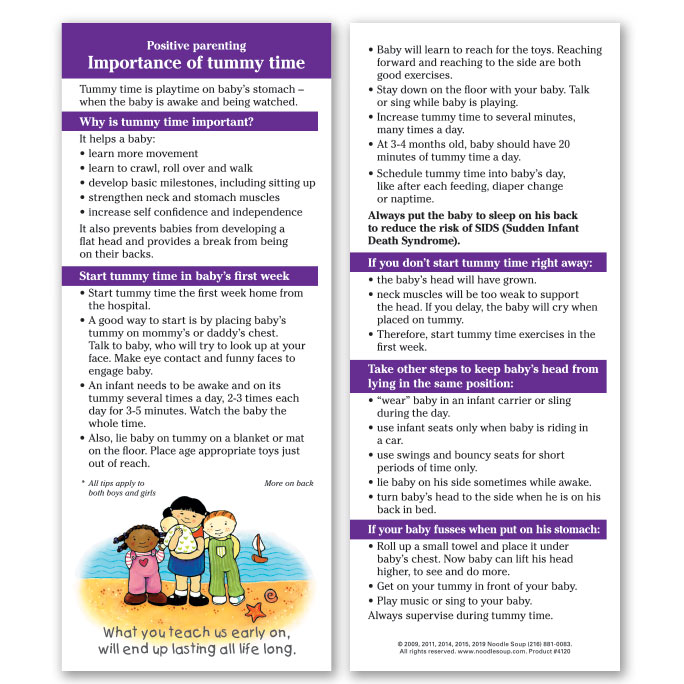 Importance of Tummy Time - English