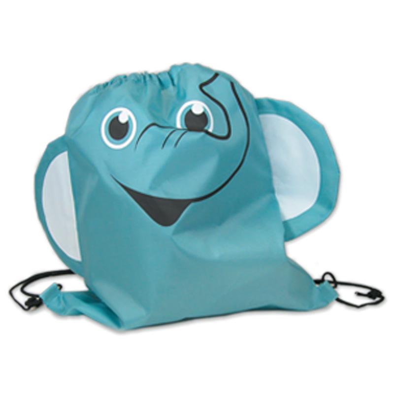 Elephant Drawstring Backpack