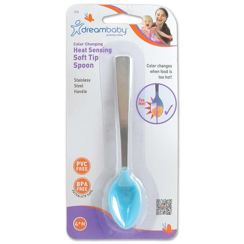 Heat Sensing Soft-tip Baby Spoon