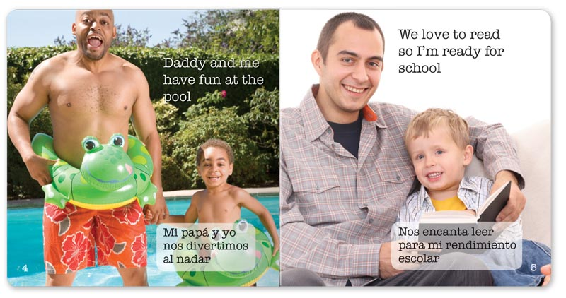 Dady and Me board book