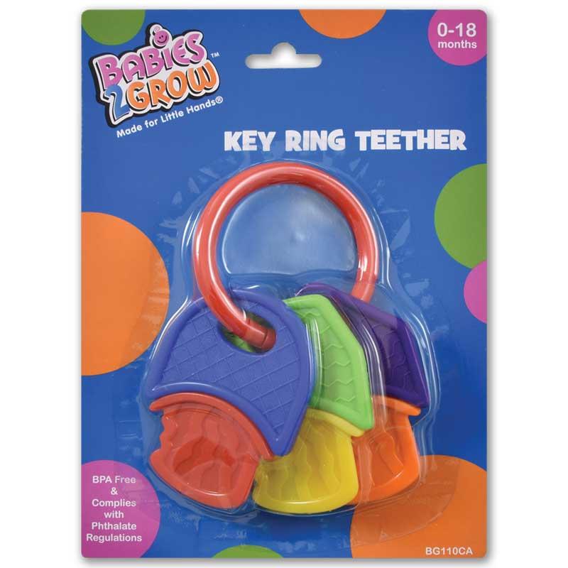 Soft Teether Rattle Keys