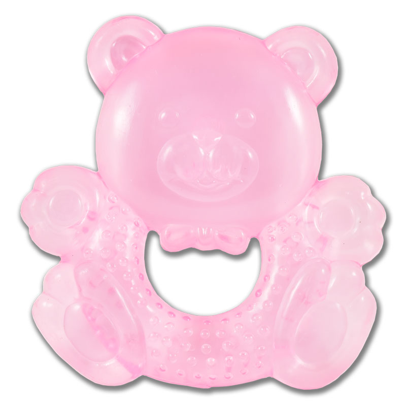 Water Filled Teether Rattles - Bear
