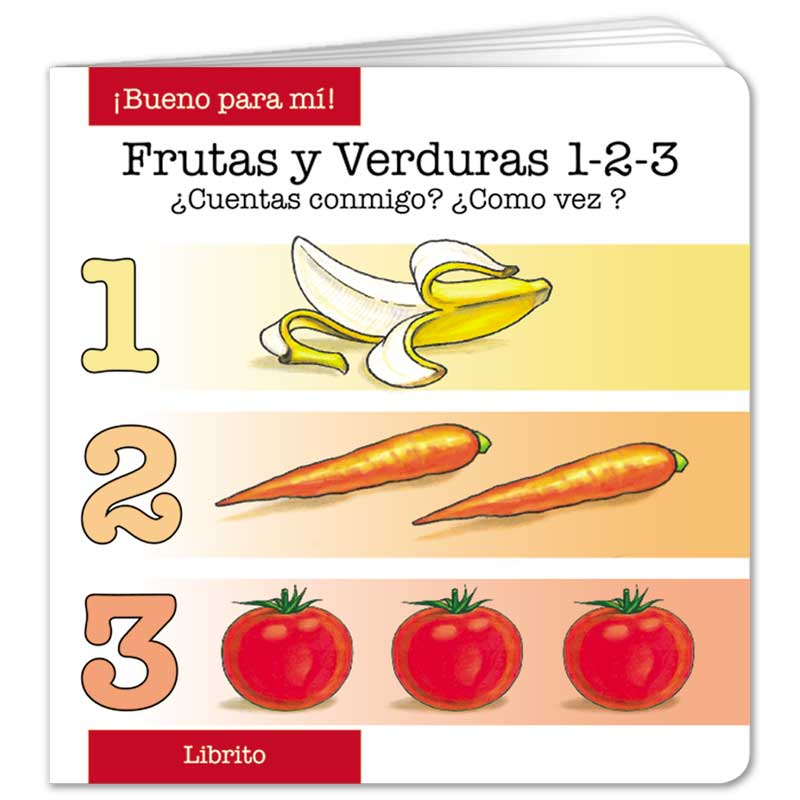 Fruit and Veggie 1-2-3 - Spanish