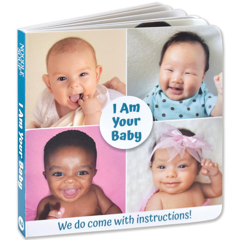 I Am Your Baby Board Book Set #2