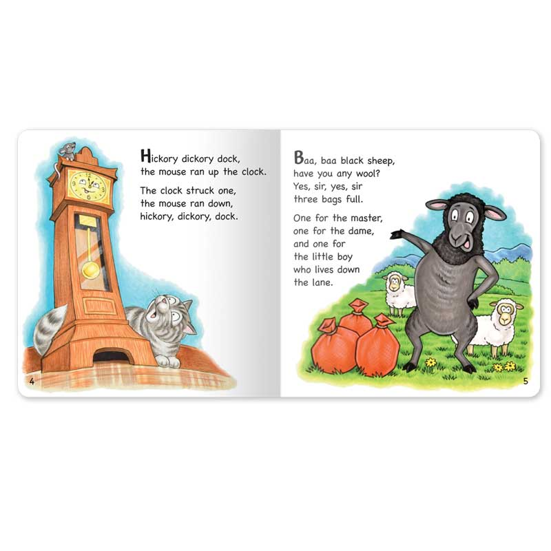 Nursery Rhymes Board Book set
