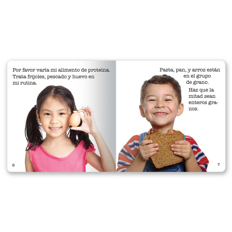 Choose MyPlate Little Book - Spanish
