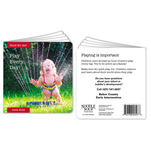 Customized Play Every Day! Little Book