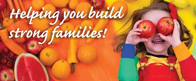 Helping you build strong families