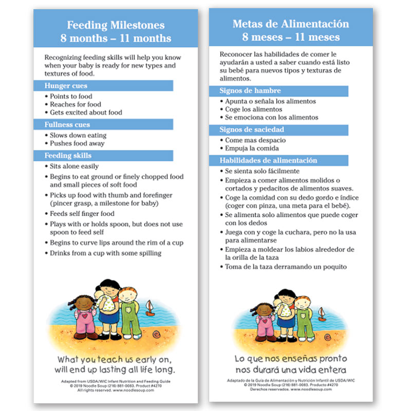 Feeding Milestones 8-11 Months
