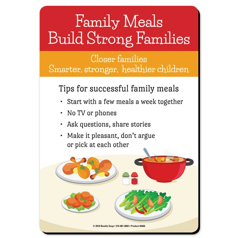Family Meals magnet