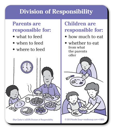 Division of Responsibility magnet - English
